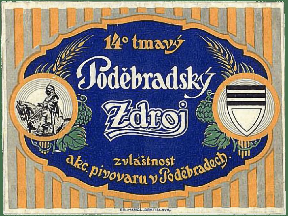 Staré logo Poděbradský Zdroj